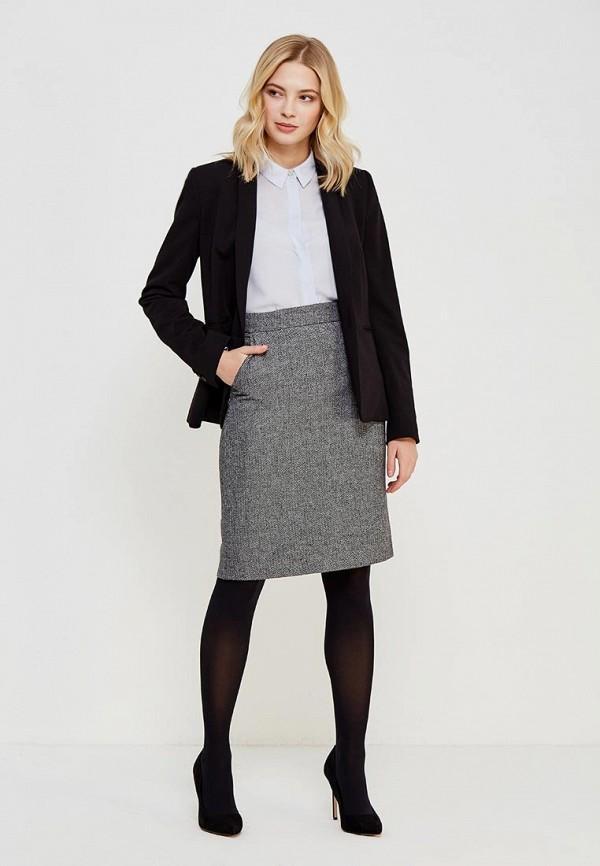 Фото 2 - женскую юбку Lusio серого цвета