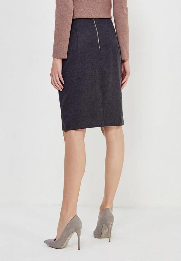 Фото 3 - женскую юбку Lusio серого цвета