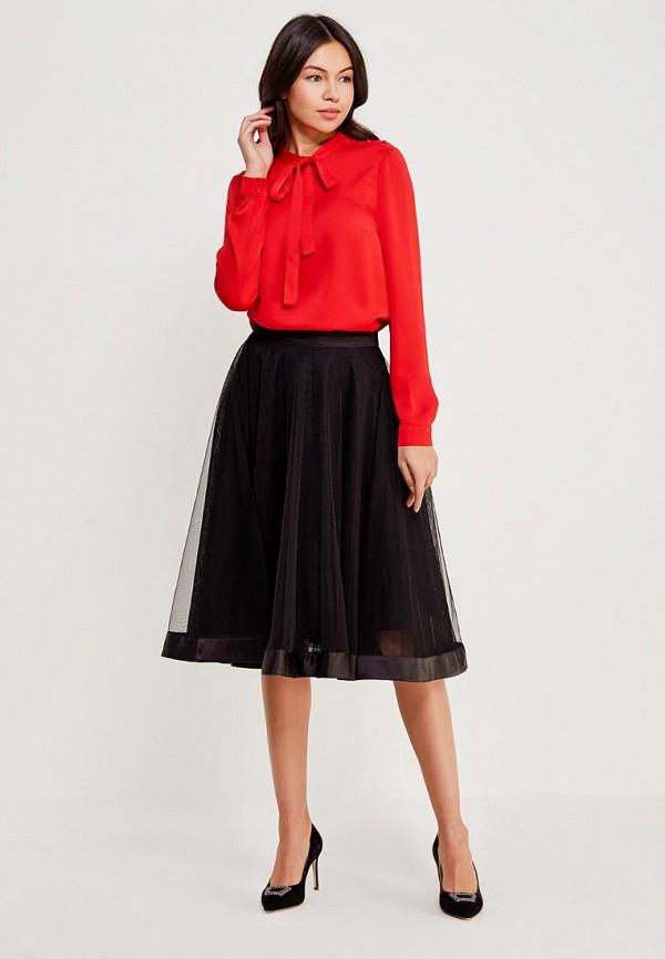 Фото 2 - женскую блузку Lusio красного цвета
