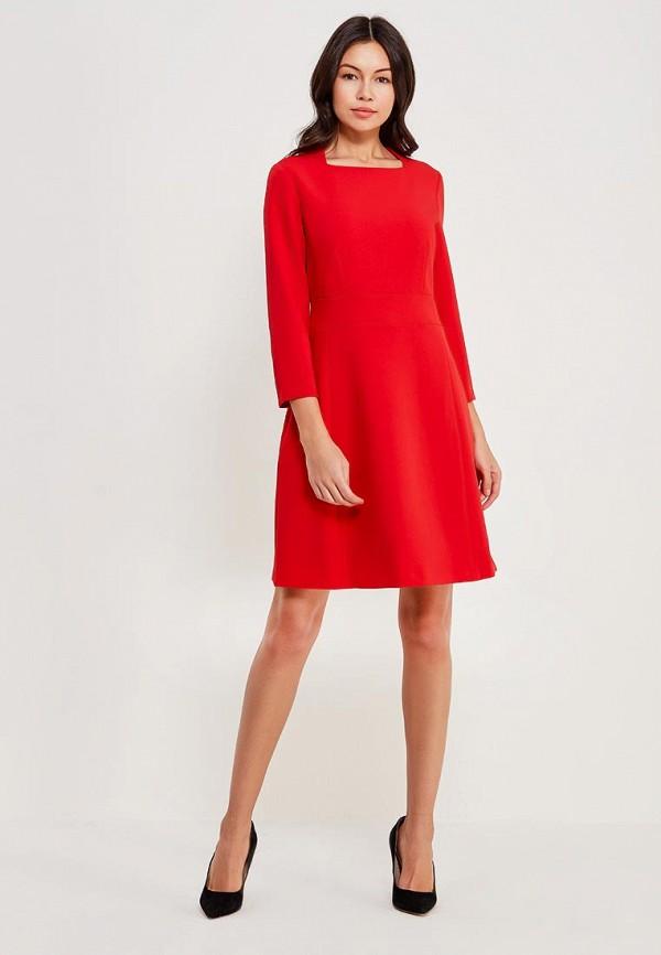 Фото 2 - женское вечернее платье Lusio красного цвета