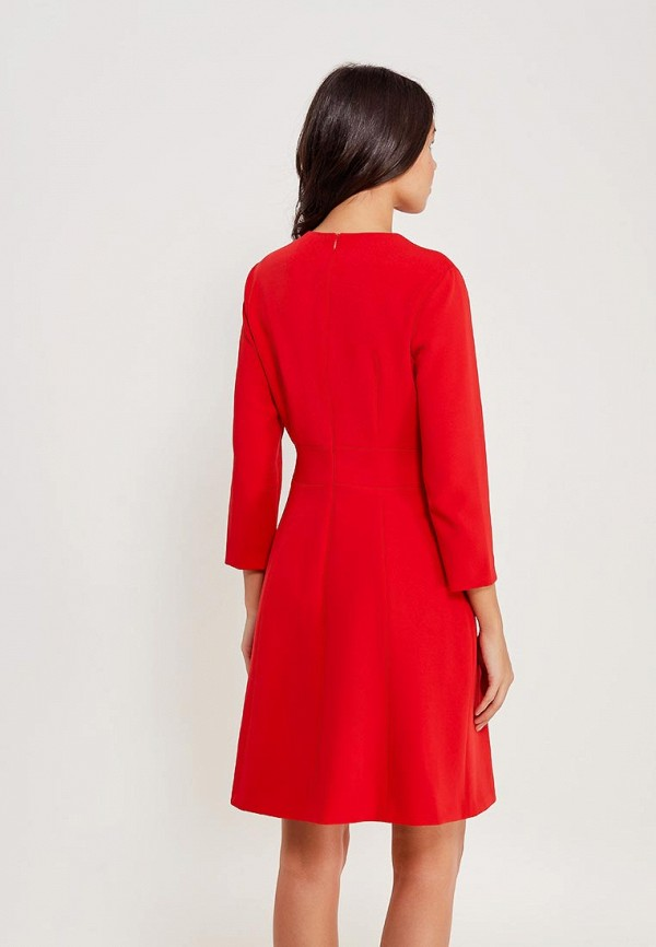 Фото 3 - женское вечернее платье Lusio красного цвета
