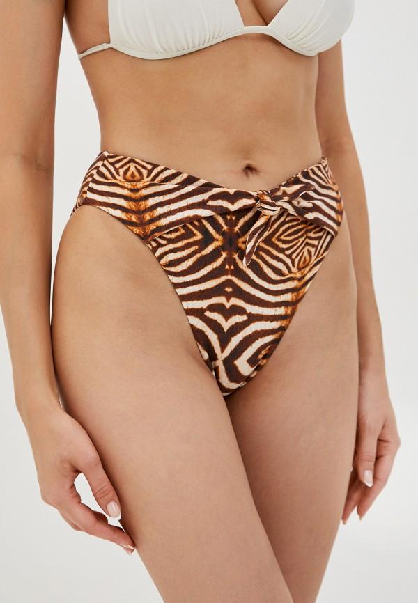 женские плавки luli fama, коричневые
