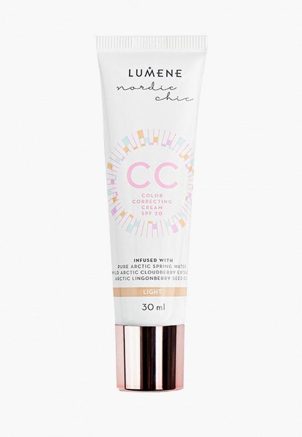 CC-Крем Lumene Lumene LU021LWCMOF7 компактная пудра lumene nordic chic cc color correcting powder 4 цвет 4 variant hex name dbc3ae