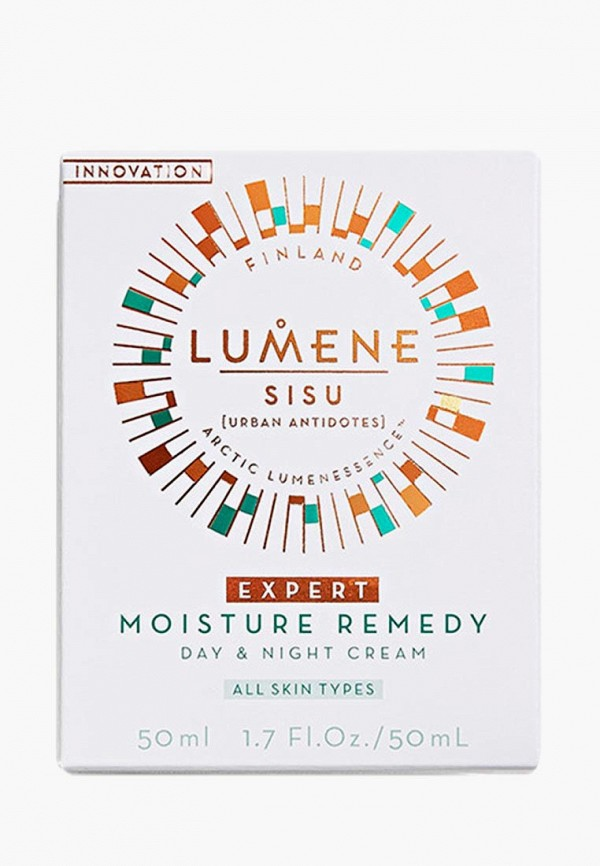Крем для лица Lumene Дневной и ночной увлажняющий Sisu, 50 мл