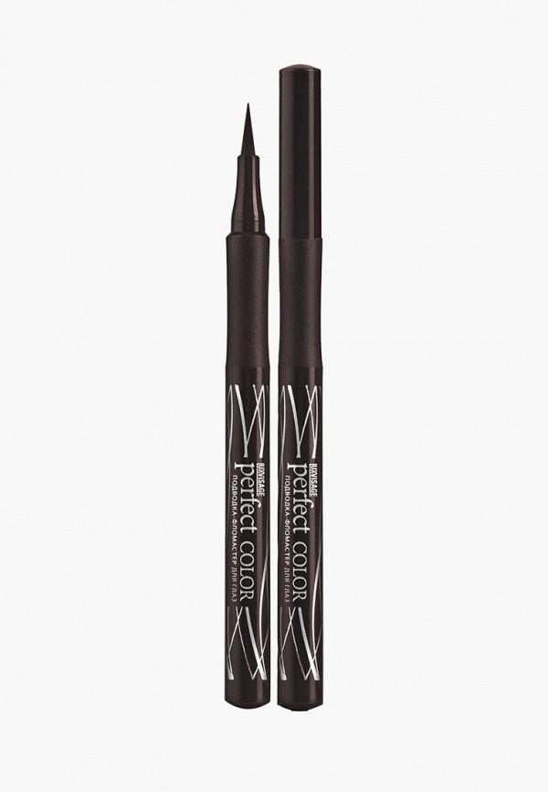подводка для глаз luxvisage, коричневый