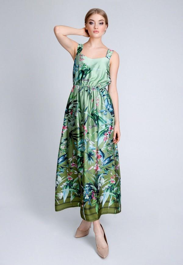 женский сарафан luisa wang, зеленый