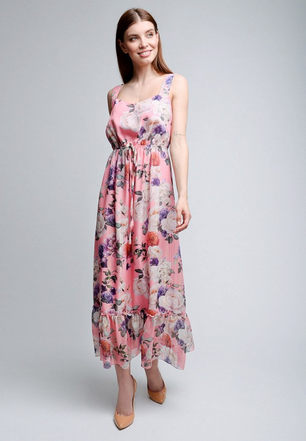 Фото 2 - Женский сарафан Luisa Wang розового цвета