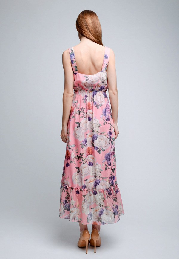 Фото 3 - Женский сарафан Luisa Wang розового цвета