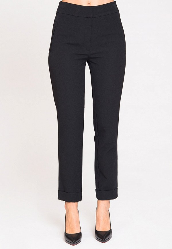 женские повседневные брюки luisa wang, черные