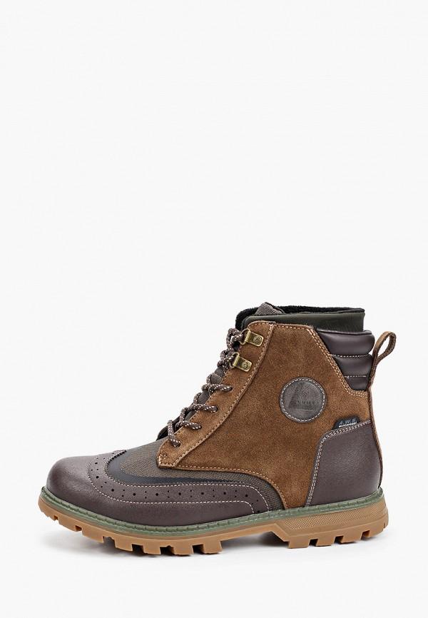 мужские ботинки luhta, коричневые