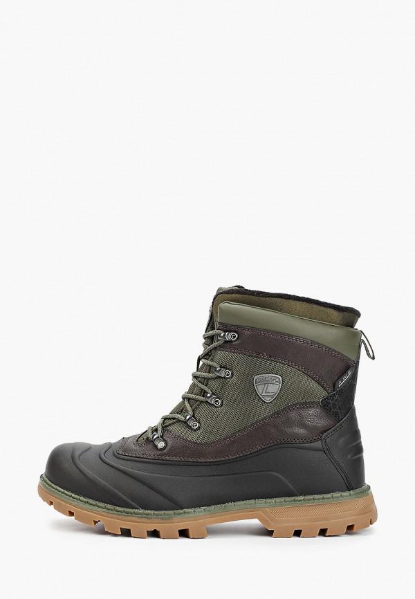мужские ботинки luhta, зеленые