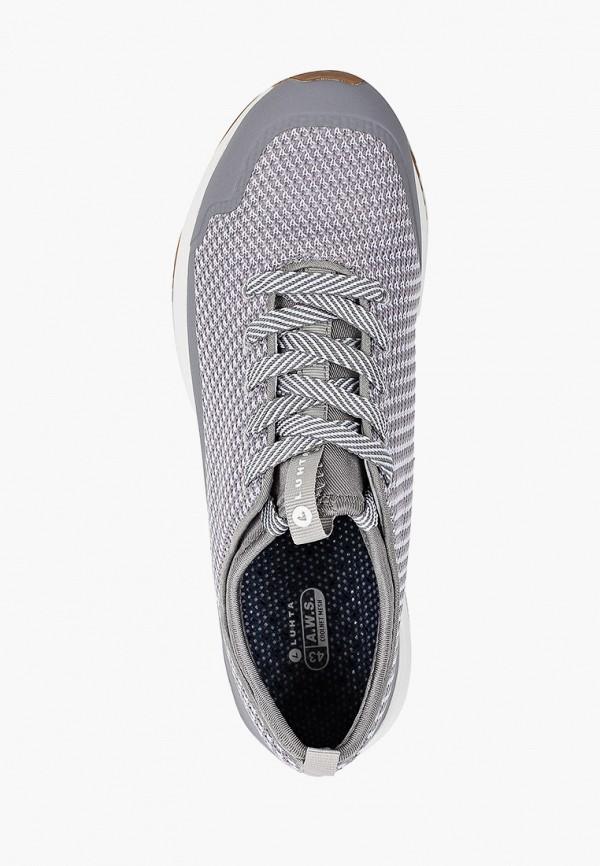 Фото 4 - Мужские кроссовки Luhta серого цвета