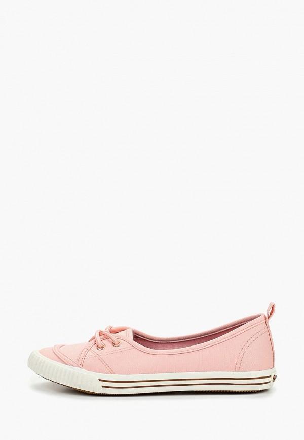 женские кеды luhta, розовые