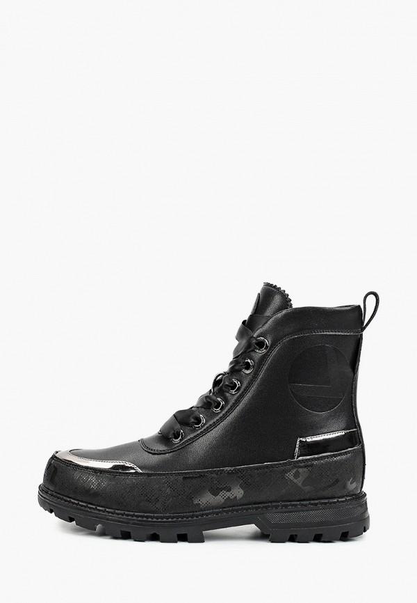 женские ботинки luhta, черные