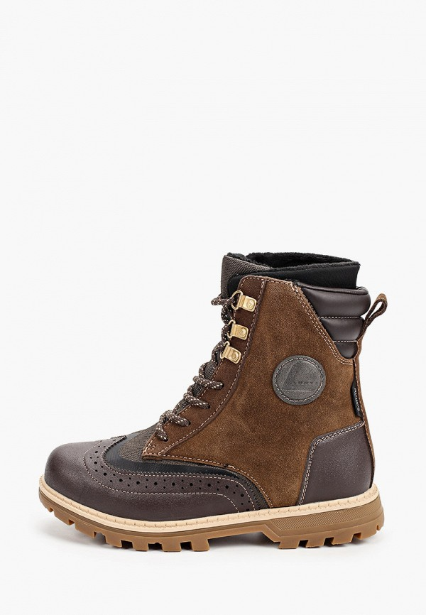 женские ботинки luhta, коричневые