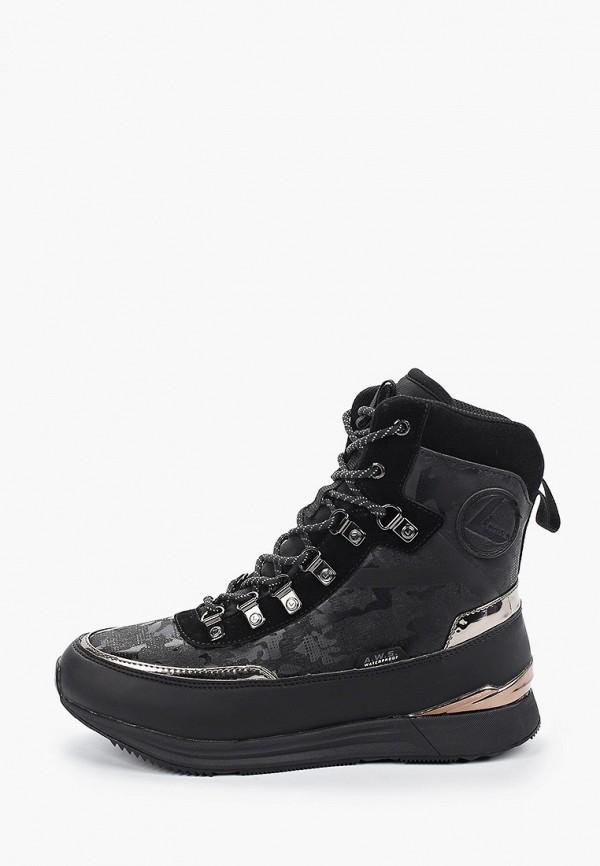 Фото - Женские ботинки и полуботинки Luhta черного цвета