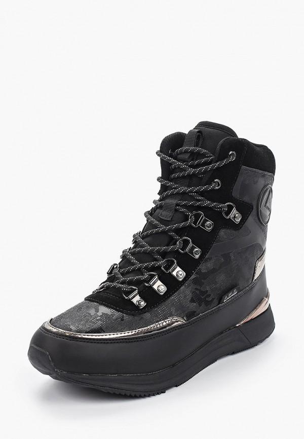 Фото 2 - Женские ботинки и полуботинки Luhta черного цвета
