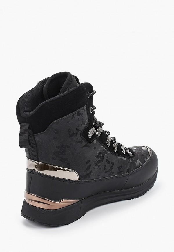 Фото 3 - Женские ботинки и полуботинки Luhta черного цвета