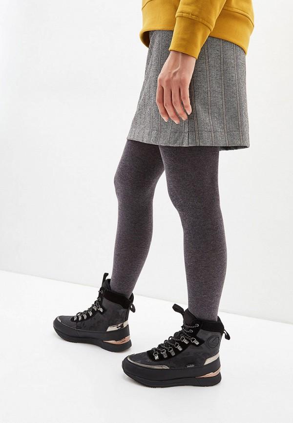 Фото 6 - Женские ботинки и полуботинки Luhta черного цвета