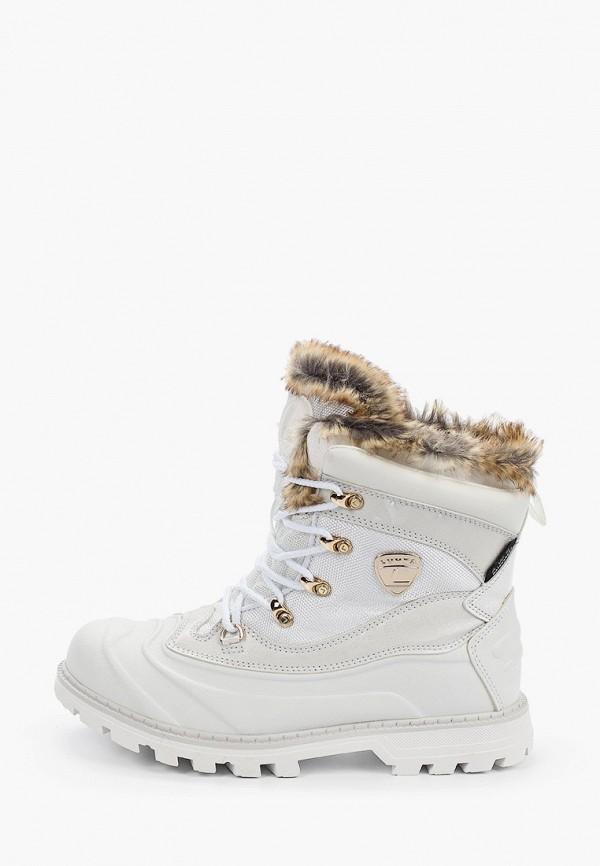 женские ботинки luhta, белые