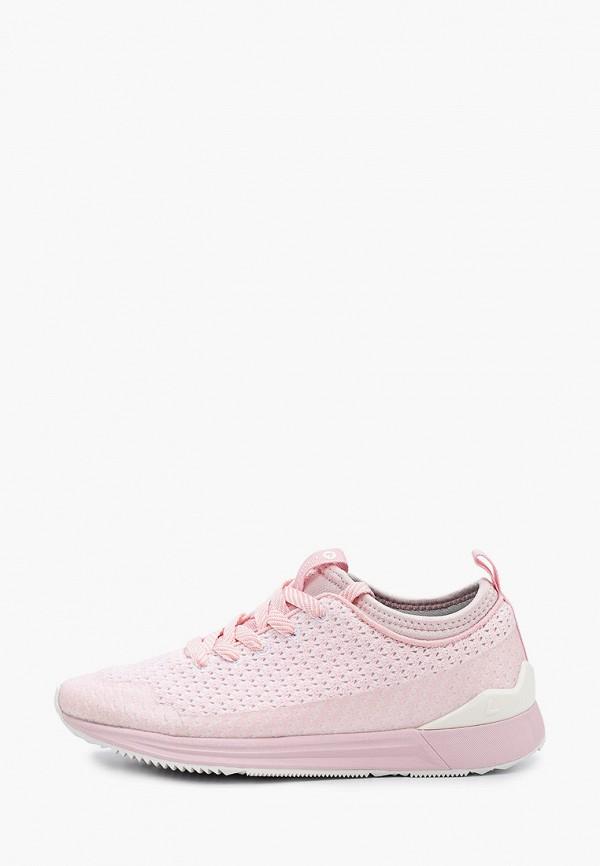 женские низкие кроссовки luhta, розовые