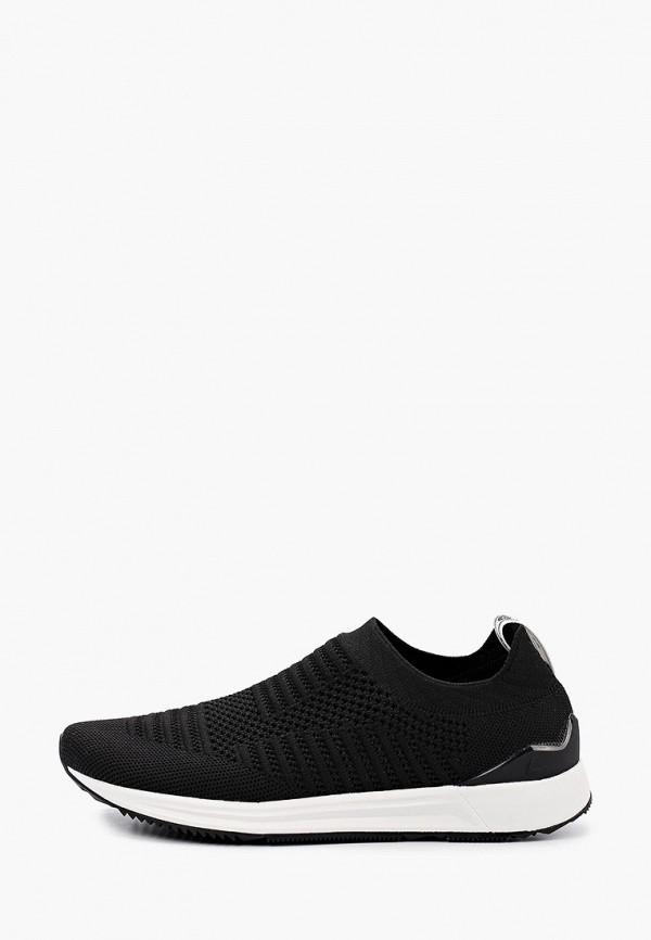 женские низкие кроссовки luhta, черные