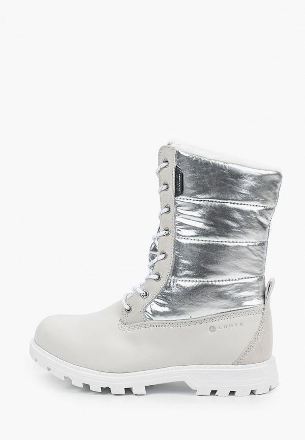 женские ботинки luhta, серые