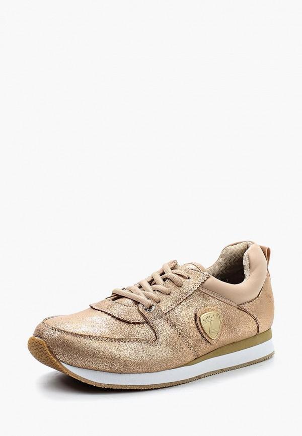 Фото - женские кроссовки Luhta золотого цвета