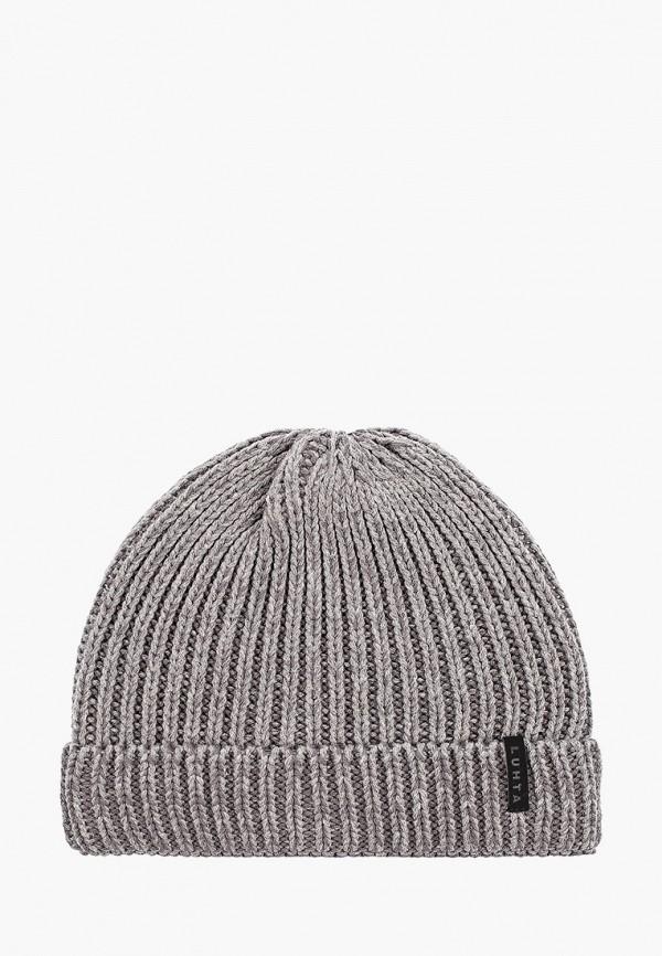 мужская шапка luhta, серая