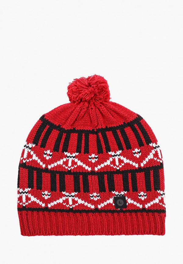 мужская шапка luhta, красная
