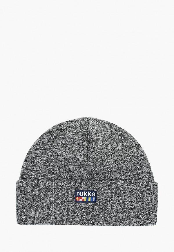 женская шапка rukka, серая