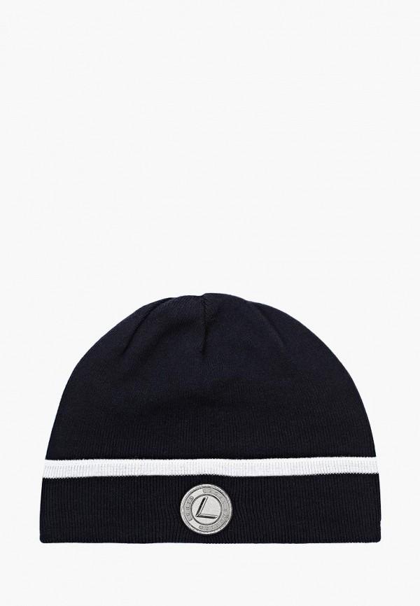 женская шапка luhta, синяя