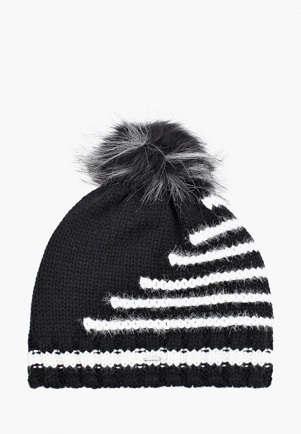 женская шапка luhta, черная