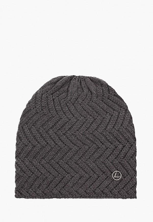женская шапка luhta, серая
