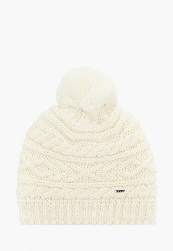 женская шапка luhta, белая