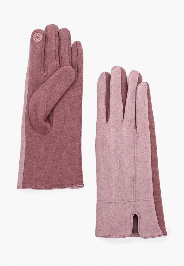 женские перчатки luhta, розовые