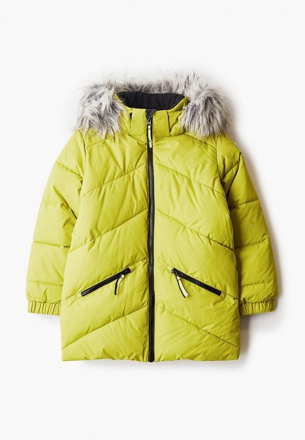 куртка luhta для мальчика, зеленая