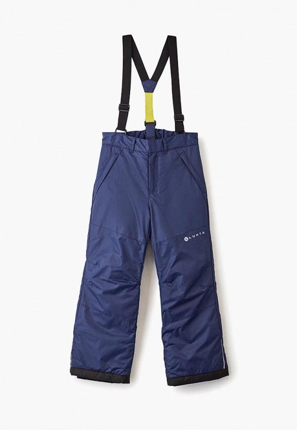 брюки luhta для мальчика, синие