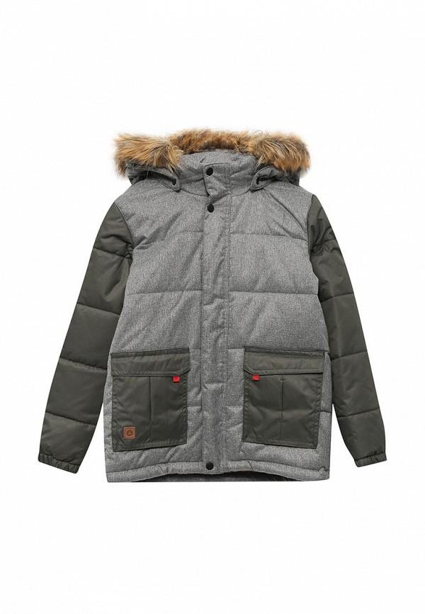 Фото - Куртку утепленная Luhta серого цвета