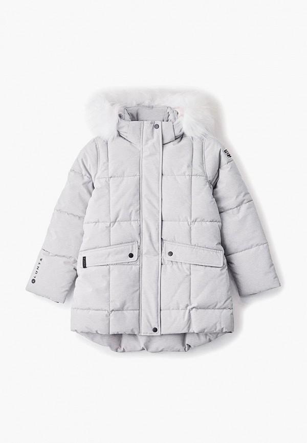 куртка luhta для девочки, серая