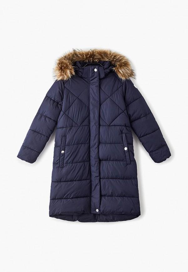 куртка luhta для девочки, синяя