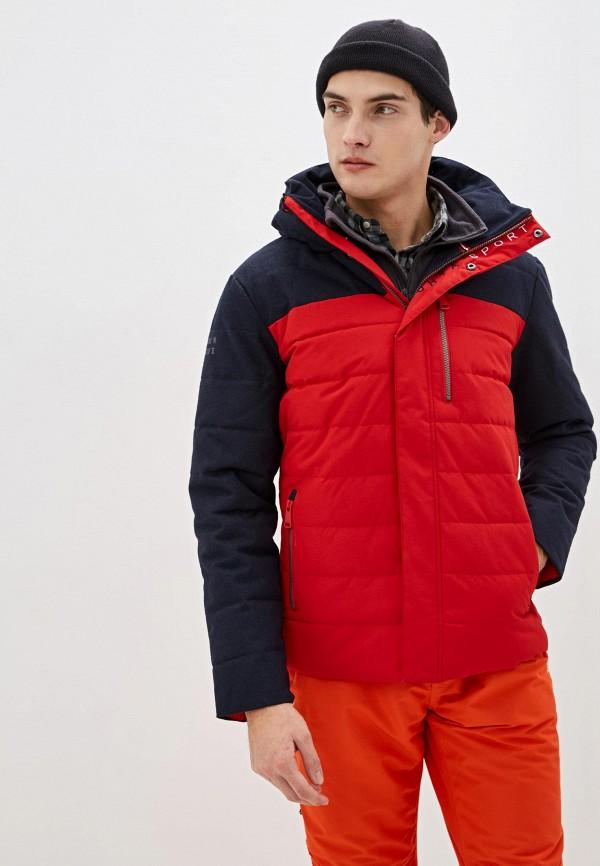 мужская куртка luhta, красная