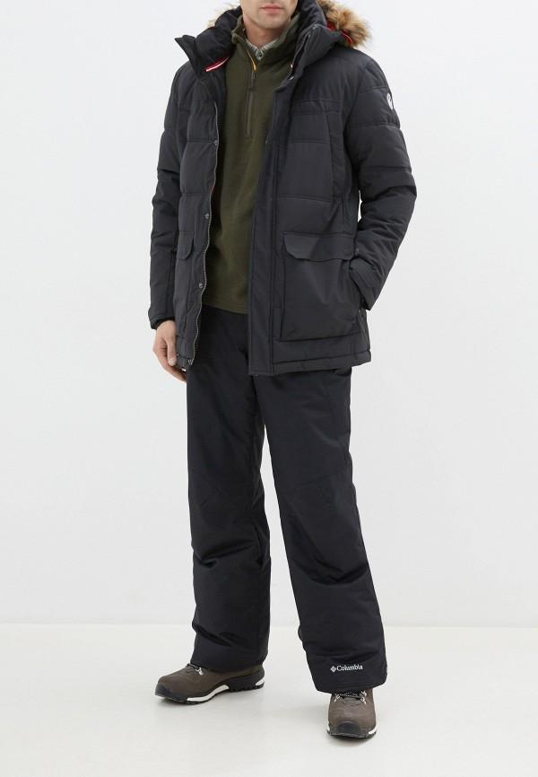 Фото 2 - Куртку утепленная Luhta синего цвета