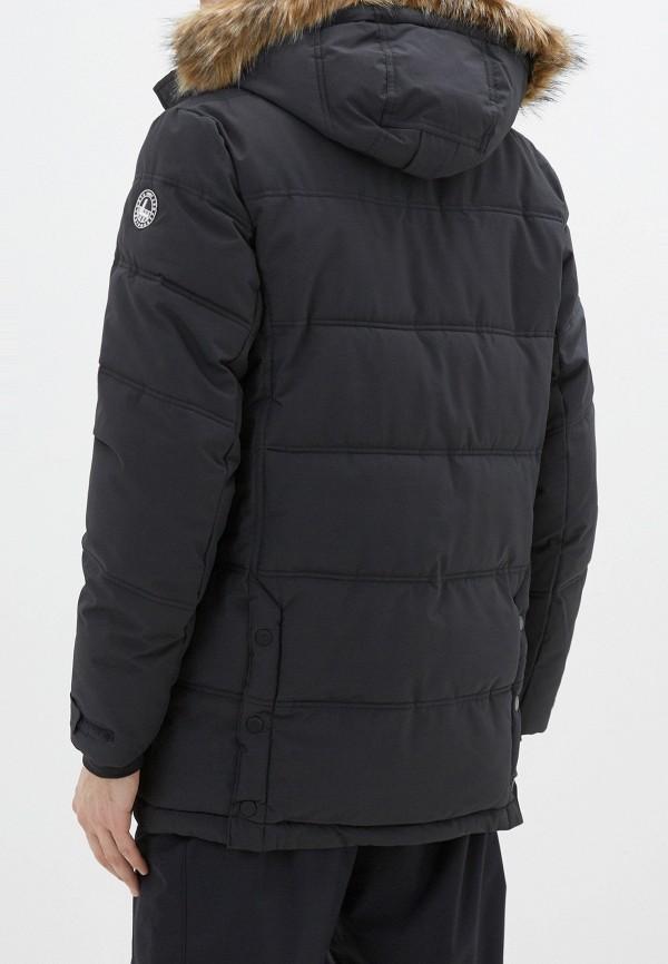 Фото 3 - Куртку утепленная Luhta синего цвета