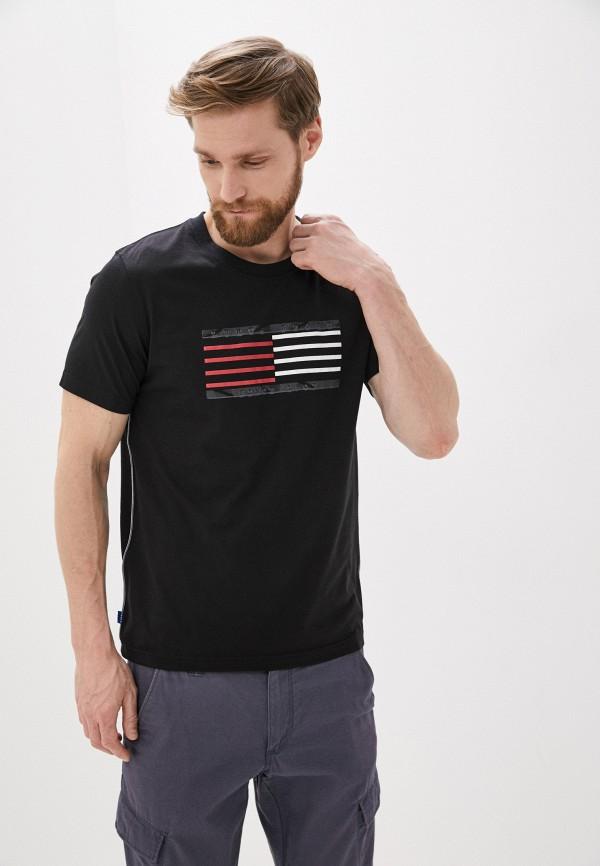 мужская спортивные футболка luhta, черная