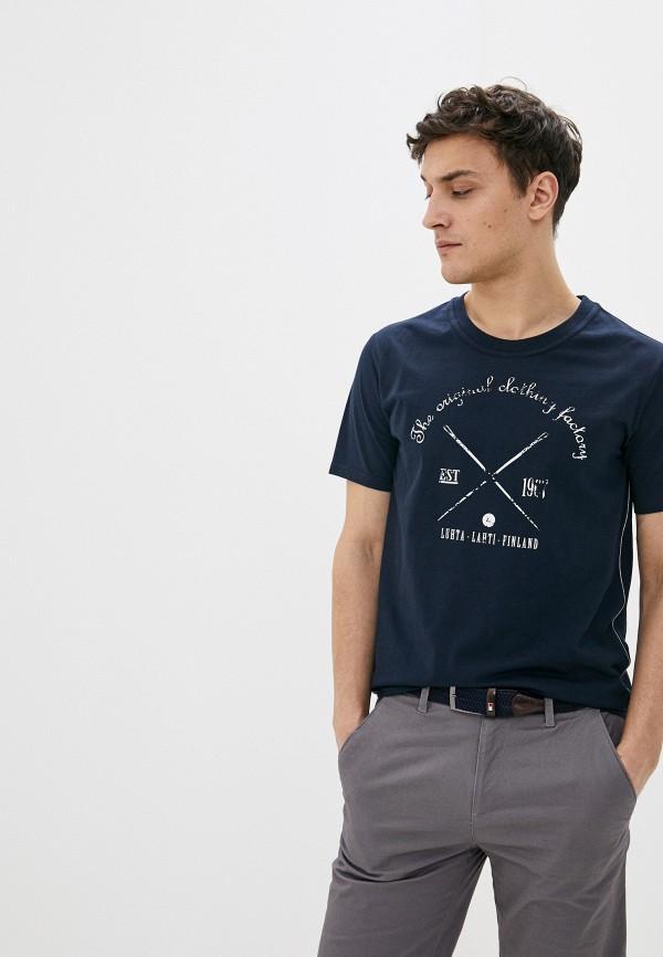 мужская спортивные футболка luhta, синяя