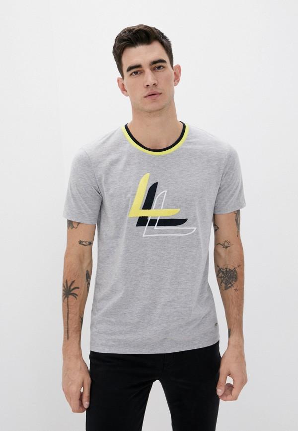 мужская спортивные футболка luhta, серая