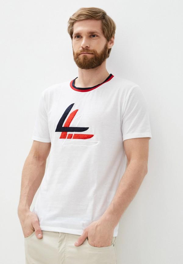мужская спортивные футболка luhta, белая