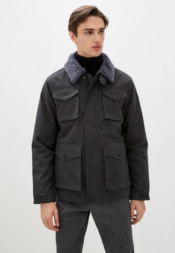 мужская куртка luhta, серая