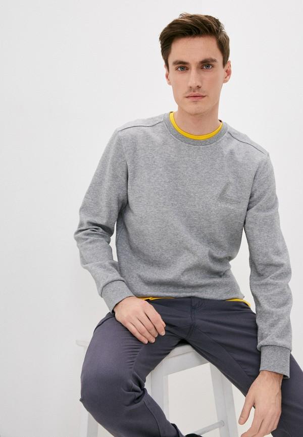 мужской свитшот luhta, серый